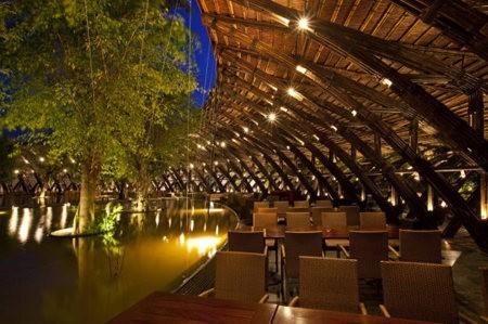 Proyecto Bamboo Wing usa bambú en edificios