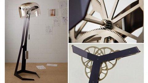 First Light, una lámpara que usa su propia energía para funcionar