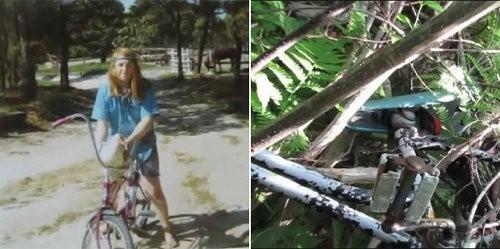 La mujer que se reunió con su bicicleta 40 años después
