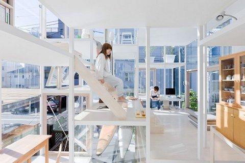 Nueva casa de vidrio diseñada por Sou Fujimoto