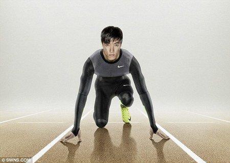Traje ecológico Nike para corredores