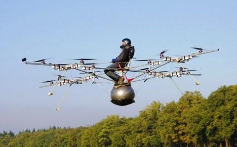 Volocopter, un vehículo aéreo y eléctrico