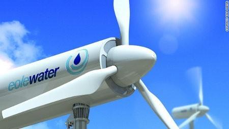 WMS1000, la turbina eólica que genera agua