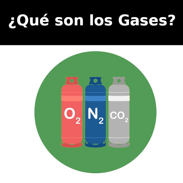 Qué son los gases