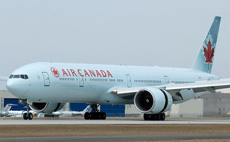 Airbus y Air Canada reducen sus emisiones de CO2