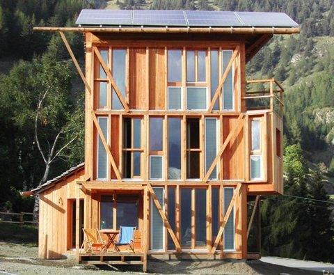 Casa Solare, una genial casa autosuficiente