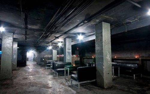 Refugio anti bombas convertido en un club nocturno2