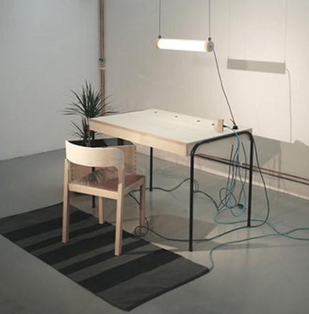 Unplugged, el escritorio que genera su propia energía