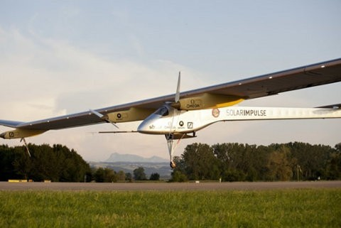 Solar Impulse vuela a través de Estados Unidos
