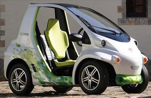 Coms, el auto eléctrico de un asiento de Toyota