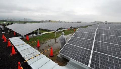 La industria solar sigue creciendo en Japón