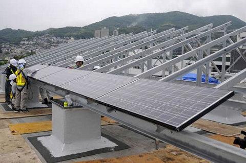 Sanno, el primer pueblo que usa solamente energía solar