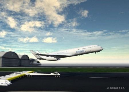 Airbus anuncia proyecto para mejorar la eficacia de los vuelos en el futuro