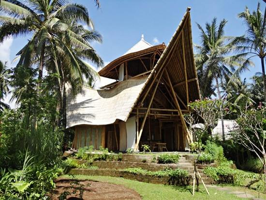 Villa ecológica en Bali