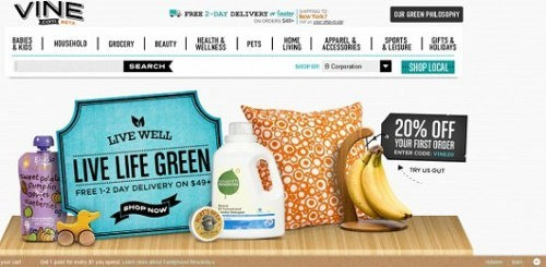 Vinecom el nuevo sitio de Amazon para comprar comida orgánica y productos ecológicos