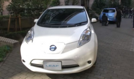 Nissan presenta al 2013 Leaf mejorado