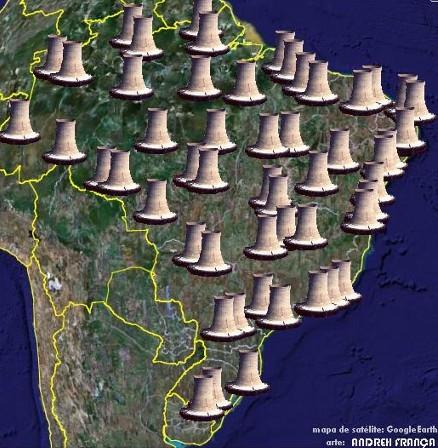 Centrales Nucleares en Brasil