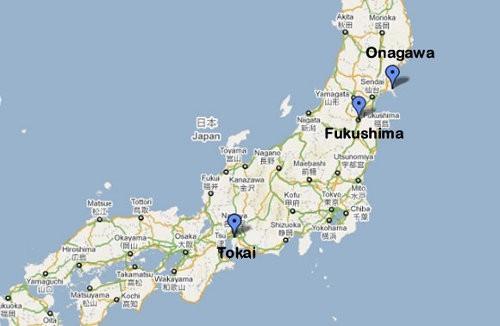 Centrales Nucleares en Japón