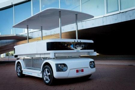 Navia, nuevo vehículo eléctrico que no requiere conductor