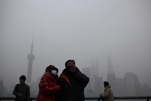 Contaminación de China llega a Japón