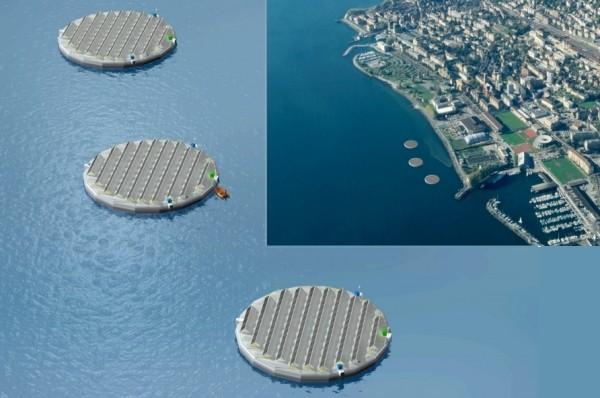 Laboratorios flotantes ecológicos