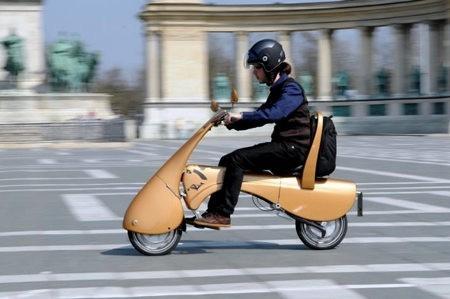 MOVEO, una moto ecológica y plegable
