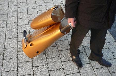 MOVEO, una moto ecológica y plegable2