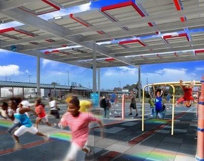 NRG estrena instalación solar en escuela de New Orleans