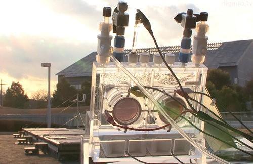 Panasonic estrena un sistema de fotosíntesis artificial