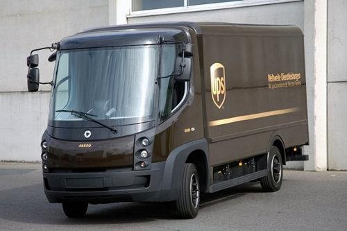 UPS estrena camiones eléctricos