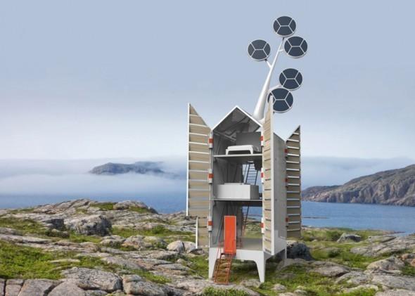 Isolée, una casa ecológica y autosuficienteIsolée, una casa ecológica y autosuficiente