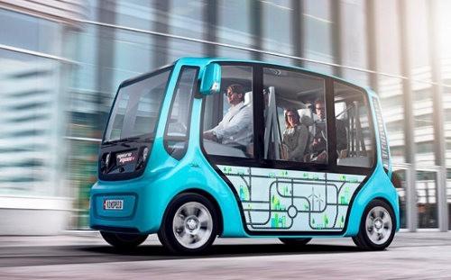 Rinspeed microMAX, los taxis del futuro