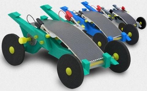 ToyLabs estrena su auto de juguete que funciona con energía solar