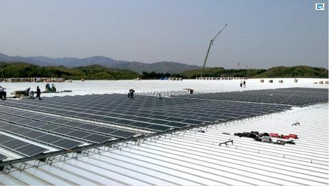Honda añade paneles solares a una de sus fábricas