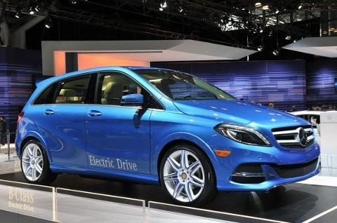 Mercedes Benz anuncia el B-Class Electric Drive
