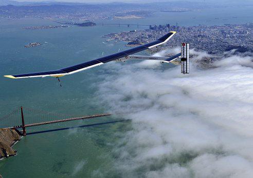 El Solar Impulse ya está en Phoenix