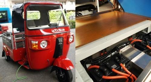 ElecTrike, un rickshaw eléctrico creado en Japón