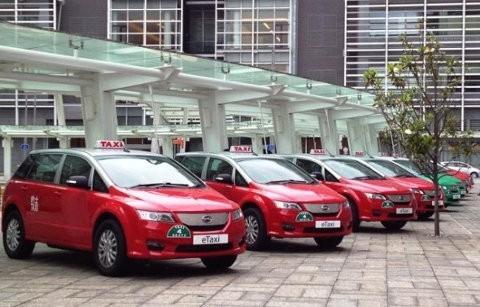 Hong Kong se vuelve ecológico con nuevos taxis eléctricos