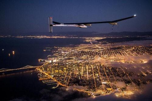 Solar Impulse comienza un nuevo viaje