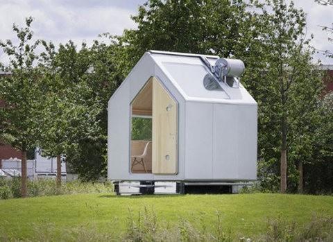 Diogene, una minicasa ecológica de 7,5 metros cuadrados