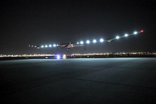 El Solar Impulse ha completado otro vuelo