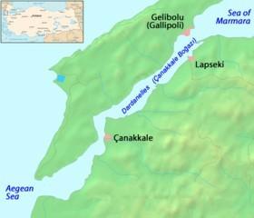 Estrecho de Dardanelos