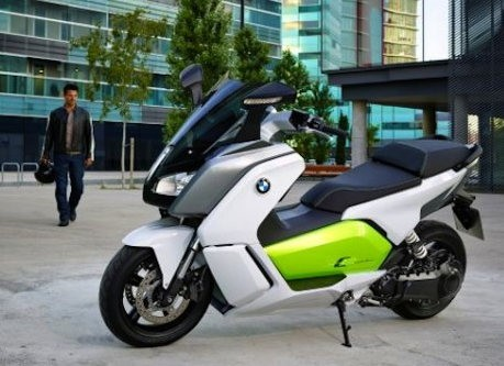 BMW anuncia la scooter eléctrica C Evolution
