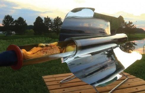 GoSun, un revolucionar horno solar