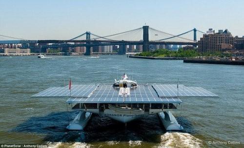 MS Tûranor PlanetSolar, el barco solar más grande del mundo