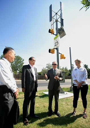 Nuevas señales de tráfico que usan energías alternativas