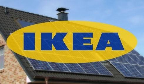 IKEA comienza a vender paneles solar en Reino Unido