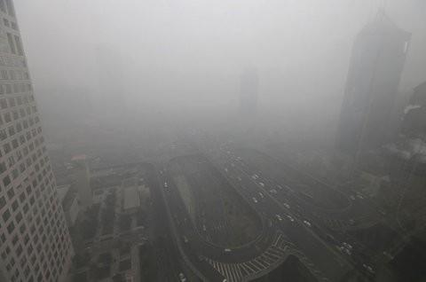 Los niveles de contaminación en Beijing son alarmantes