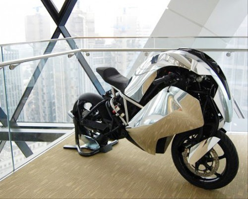 Saiette R, la primer moto eléctrica deportiva