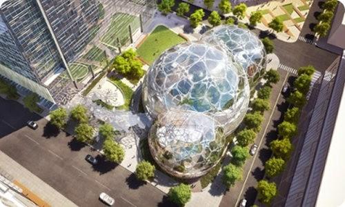 Así será la nueva sede de Amazon en Seattle